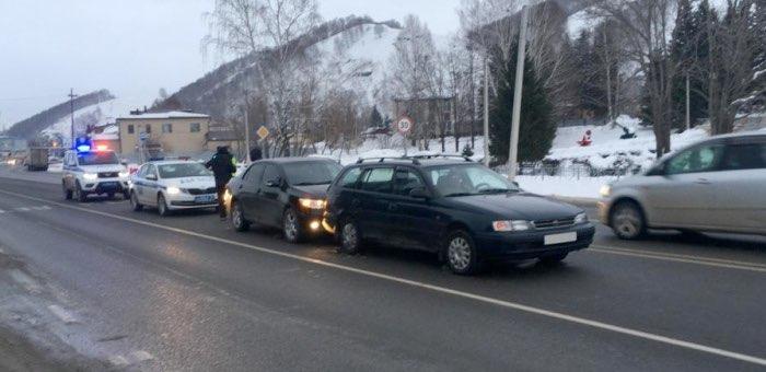 Нетрезвый майминец сел за руль и совершил ДТП
