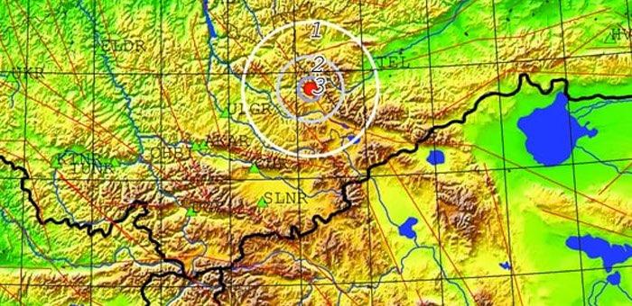 Небольшое землетрясение произошло на территории Алтайского заповедника