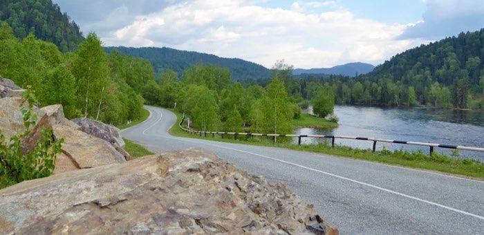 24 километра Телецкого тракта отремонтируют в этом году