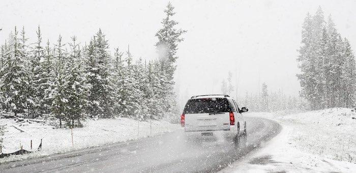 Штормовое предупреждение: снег, метели, сильный ветер