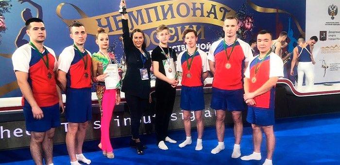 Художественные гимнасты с Алтая стали призерами чемпионата России