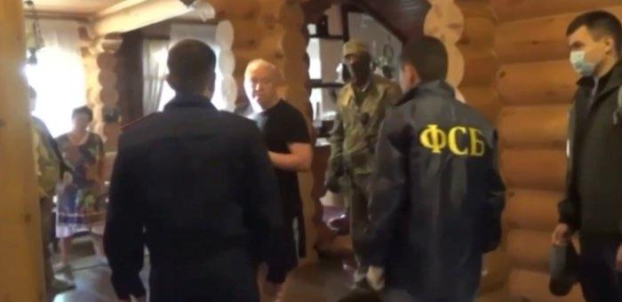 Как задерживали Пальталлера и Нечаева: видео