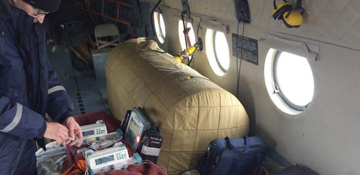 202 пациента эвакуировано вертолетом санавиации в 2020 году
