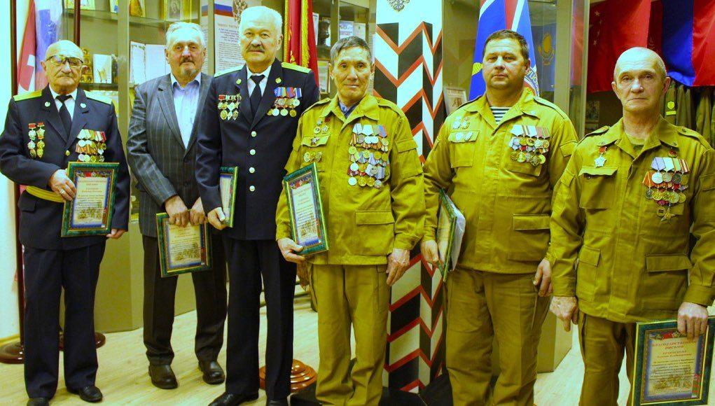 Встреча с ветеранами-пограничниками и участниками войны в Афганистане