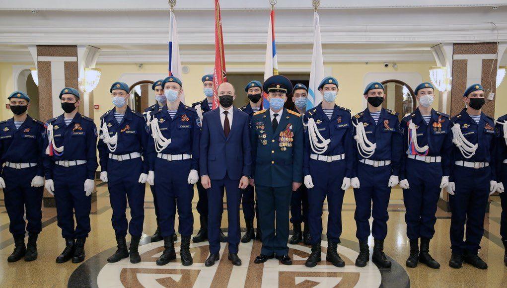Торжественное собрание, приуроченное ко Дню защитника Отечества, прошло в Горно-Алтайске
