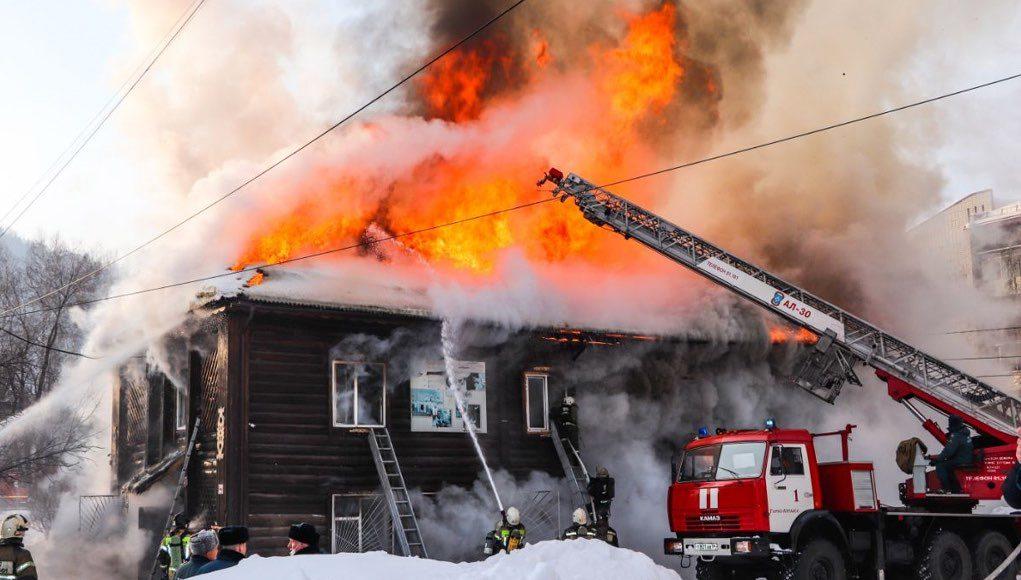 Предварительная версия пожара: в школе нарушили правила пользования электроприборами