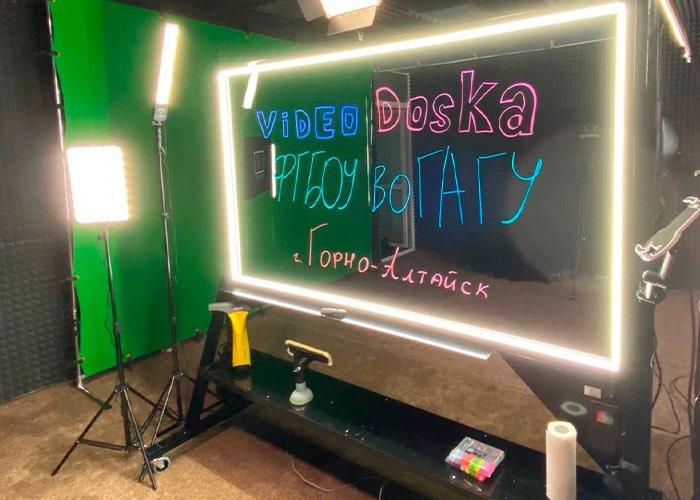 В Горно-Алтайском госуниверситете открылась современная видеостудия