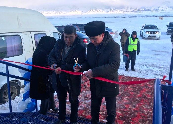 В Кош-Агаче открыли новый аэровокзал