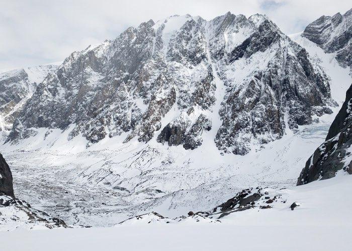 107 сантиметров высоты потерял ледник Левый Актру в 2020 году