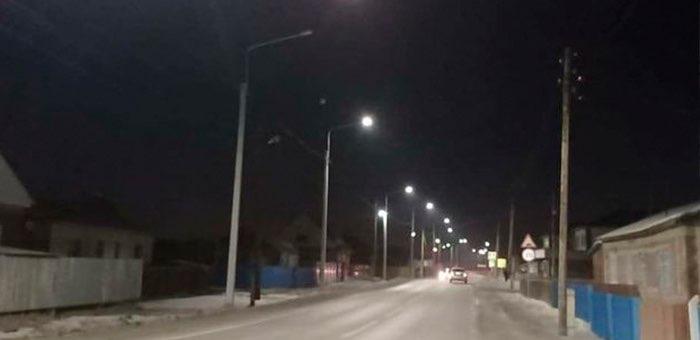 На подъезде к Онгудаю, в Усть-Коксе и Кош-Агаче установлены линии электроосвещения