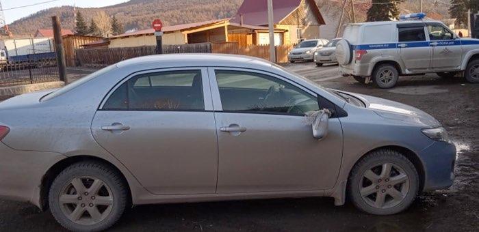 В Ябогане местная жительница попала под колеса автомобиля Тoyota Corolla