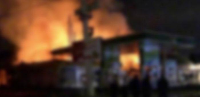 До смерти избил коллегу и попытался сжечь его в помещении АГЗС