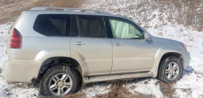 Водитель из Новосибирска на Lexus GX попал в ДТП в «Долине смерти»