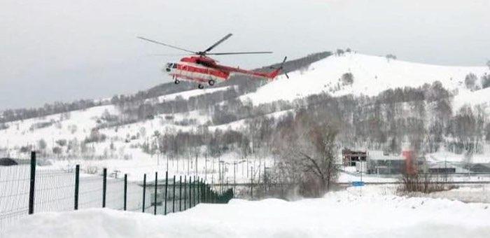 Тяжело больных жителей Онгудая и Шебалино эвакуировали санитарным вертолетом