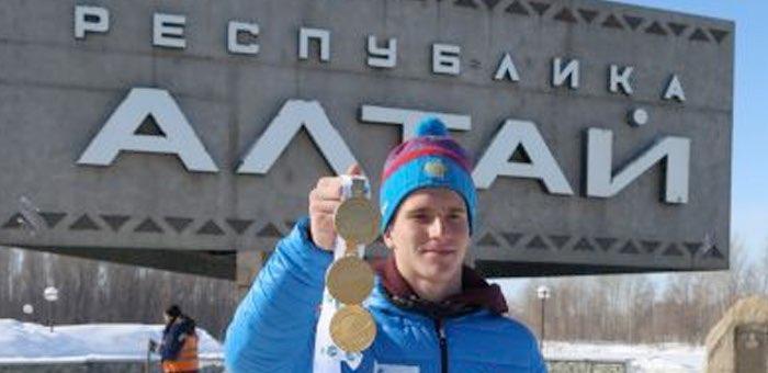 В Республике Алтай встретили трехкратного чемпиона мира Дениса Иродова