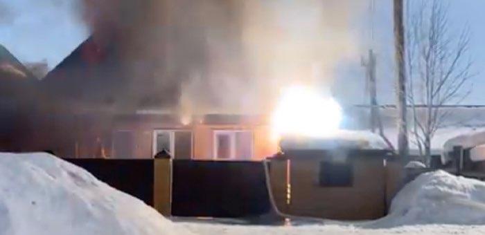 Два пожара произошло в республике за минувшие сутки