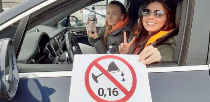 «Ноль промилле!». Водителей призвали не садиться за руль пьяными