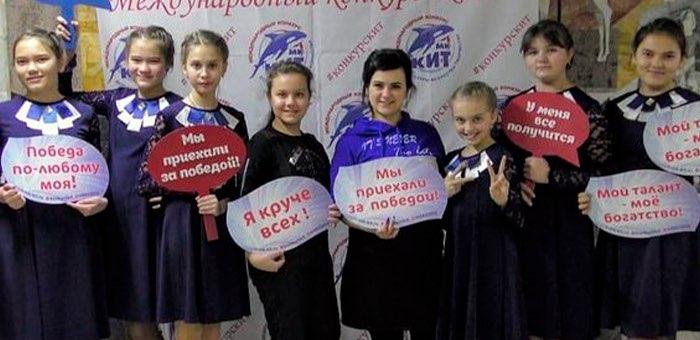 Юные певицы из Чои успешно выступили на конкурсе в Барнауле