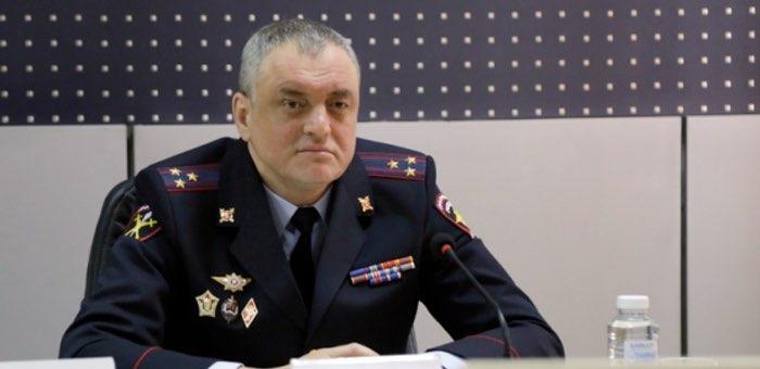 Личному составу представлен руководитель МВД по Республике Алтай