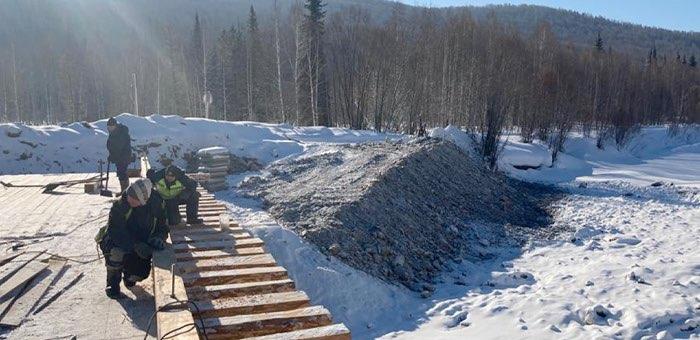 Восстановление ветхих мостов ведется в Республике Алтай