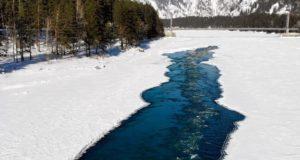 В Республике Алтай началось вскрытие рек. Оно происходит раньше, чем обычно