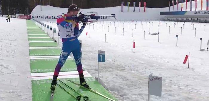 Денис Иродов выиграл гонку преследования и стал трехкратным чемпионом мира