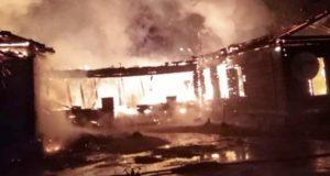 В Мараловодке сгорела школа, прокуратура ведет проверку