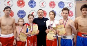 Спортсмены из «Атаки» стали призерами и победителями чемпионата Сибири по кикбоксингу
