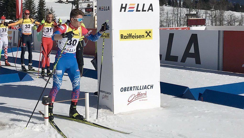 Денис Иродов победил в спринте и стал двукратным чемпионом мира среди юношей