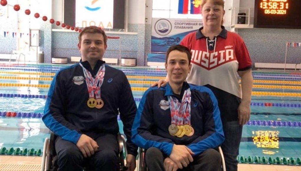 Студенты ГАГУ завоевали шесть золотых медалей на Чемпионате России по плаванию