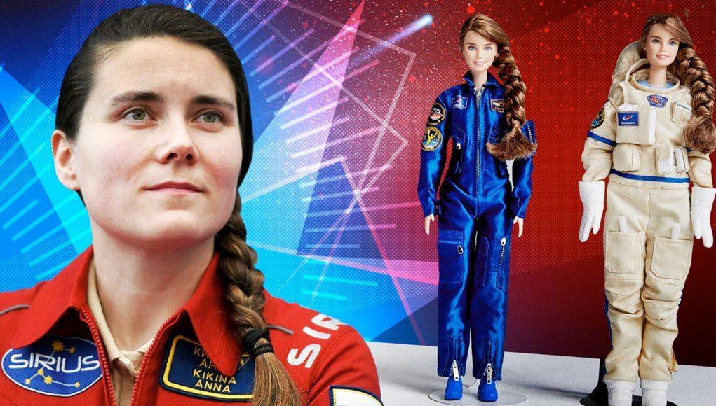 Девушка из Горно-Алтайска, попавшая в отряд космонавтов, стала прообразом новой куклы Барби