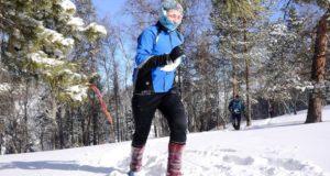 Морозный забег «Белый трейл» прошел в Республике Алтай