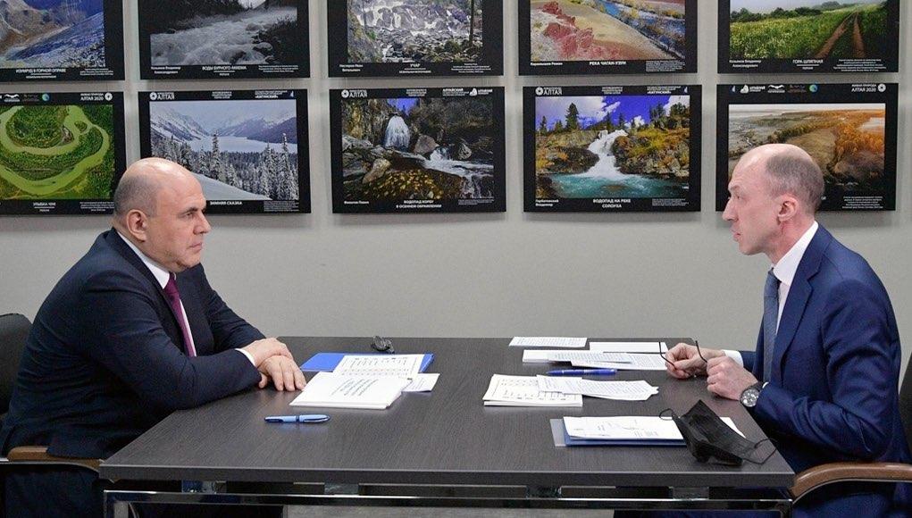 О чем говорили Михаил Мишустин и Олег Хорохордин: стенограмма