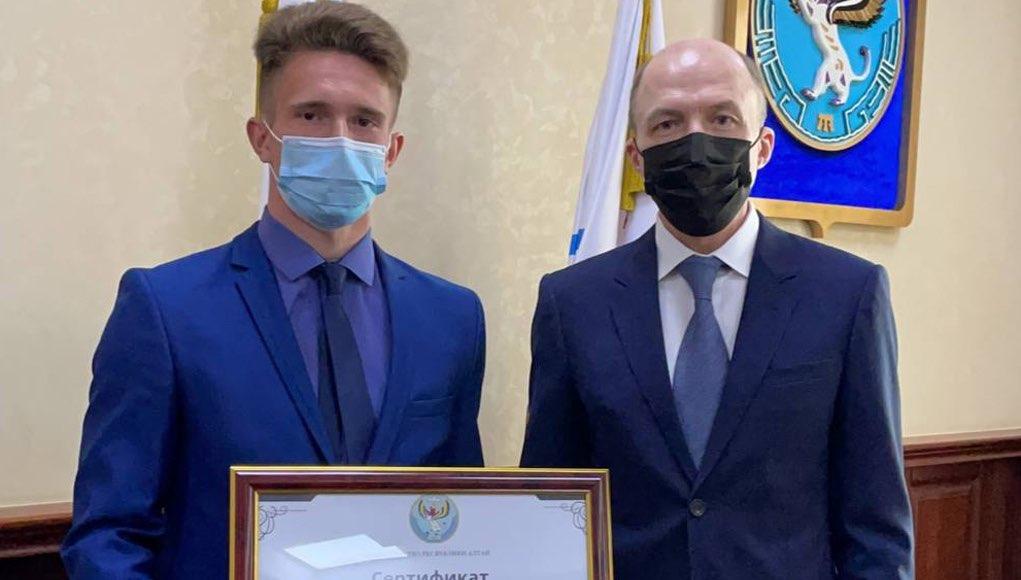 Трехкратному чемпиону мира Денису Иродову подарили квартиру