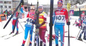 Биатлонистки с Алтая выступили на соревнованиях в Новосибирске