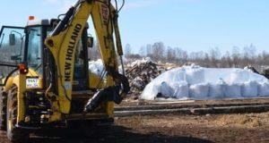 Строительство животноводческого комплекса началось в Гусевке