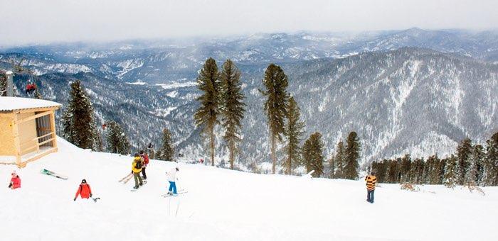 Какие места чаще всего посещали туристы на Алтае этой зимой? Исследование МТС