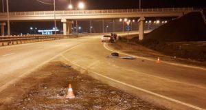 Молодой горожанин устроил аварию на Чуйском тракте возле аэропорта