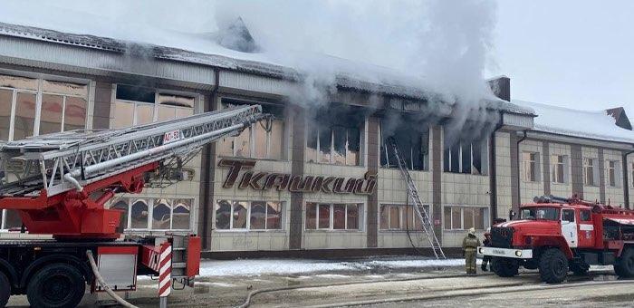 Отголоски пожара в ТЦ «Ткацкий-2»: собственник здания оштрафован на 20 тыс. рублей