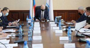 Олег Хорохордин поставил задачу обеспечить жильем детей-сирот