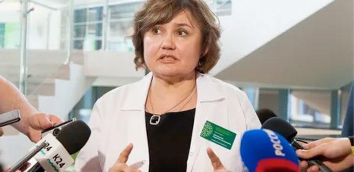 Первым заместителем министра здравоохранения назначена Людмила Григоричева