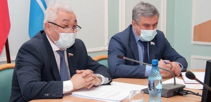 Родион Букачаков встретился с депутатами Госсобрания