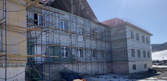 На строительстве детского сада в Шебалино обнаружены серьезные нарушения