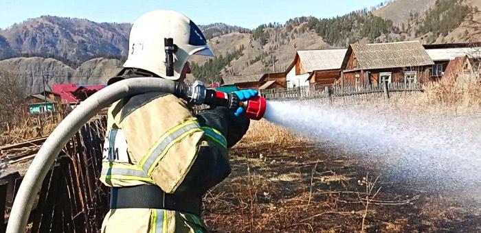 На территории Республики Алтай действует особый противопожарный режим