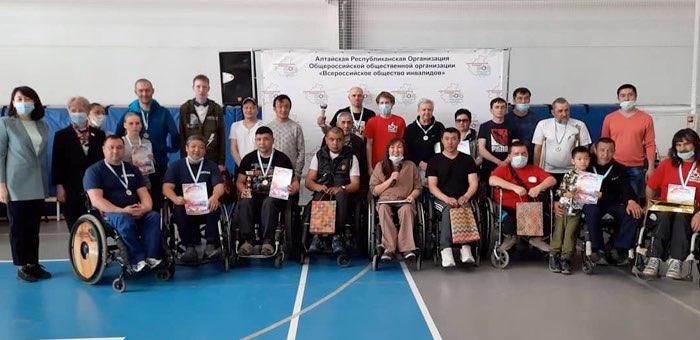 Чемпионат по настольному теннису среди инвалидов прошел в Республике Алтай