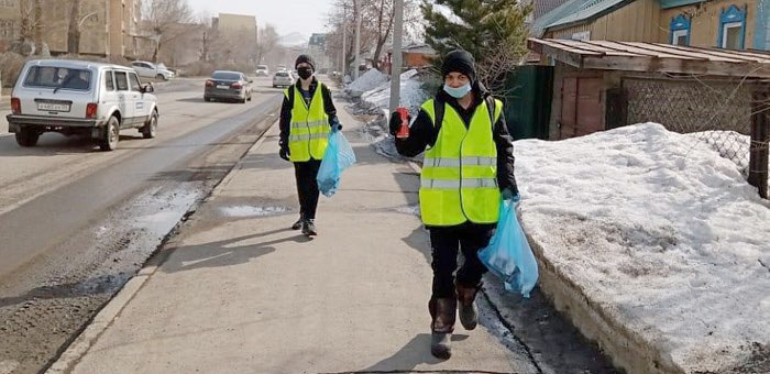 В Горно-Алтайске продолжается марафон чистоты и благоустройства