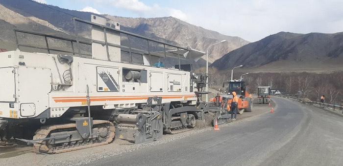 В Республике Алтай начался ремонт двух участков Чуйского тракта