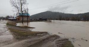 По северу Республики Алтай из-за осадков осложнилась паводковая обстановка
