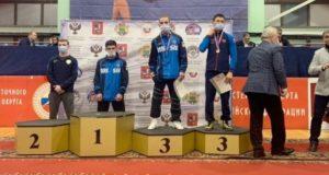 Юрий Тапаа стал бронзовым призером первенства России по греко-римской борьбе