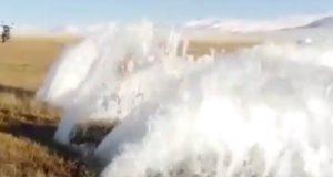 Почему на Алтае из-под земли начали бить фонтаны?